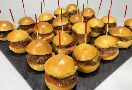 Plateau de Mini Burgers